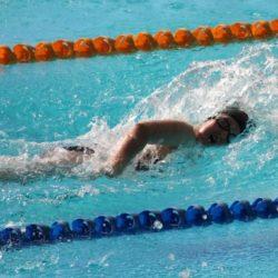 swimming breathing